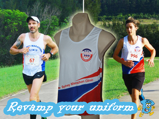 Sydney Marathon Clinic revamps their uniform